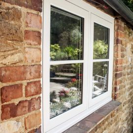 Modern UPVC Sash Window Styling