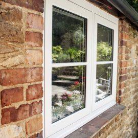 Modern UPVC Sash Window Styling